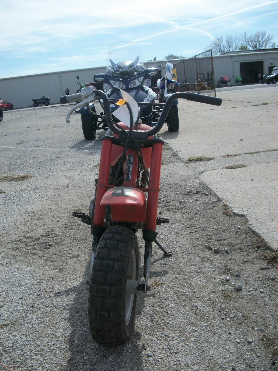 RED 1984 HONDA Z50R Z 50R for sale in Decatur, IL Photo 2