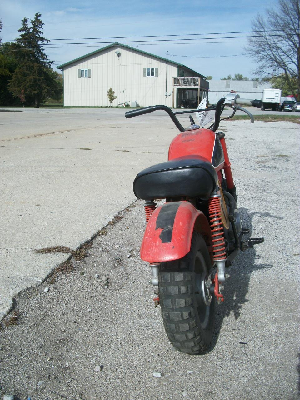 RED 1984 HONDA Z50R Z 50R for sale in Decatur, IL Photo 3