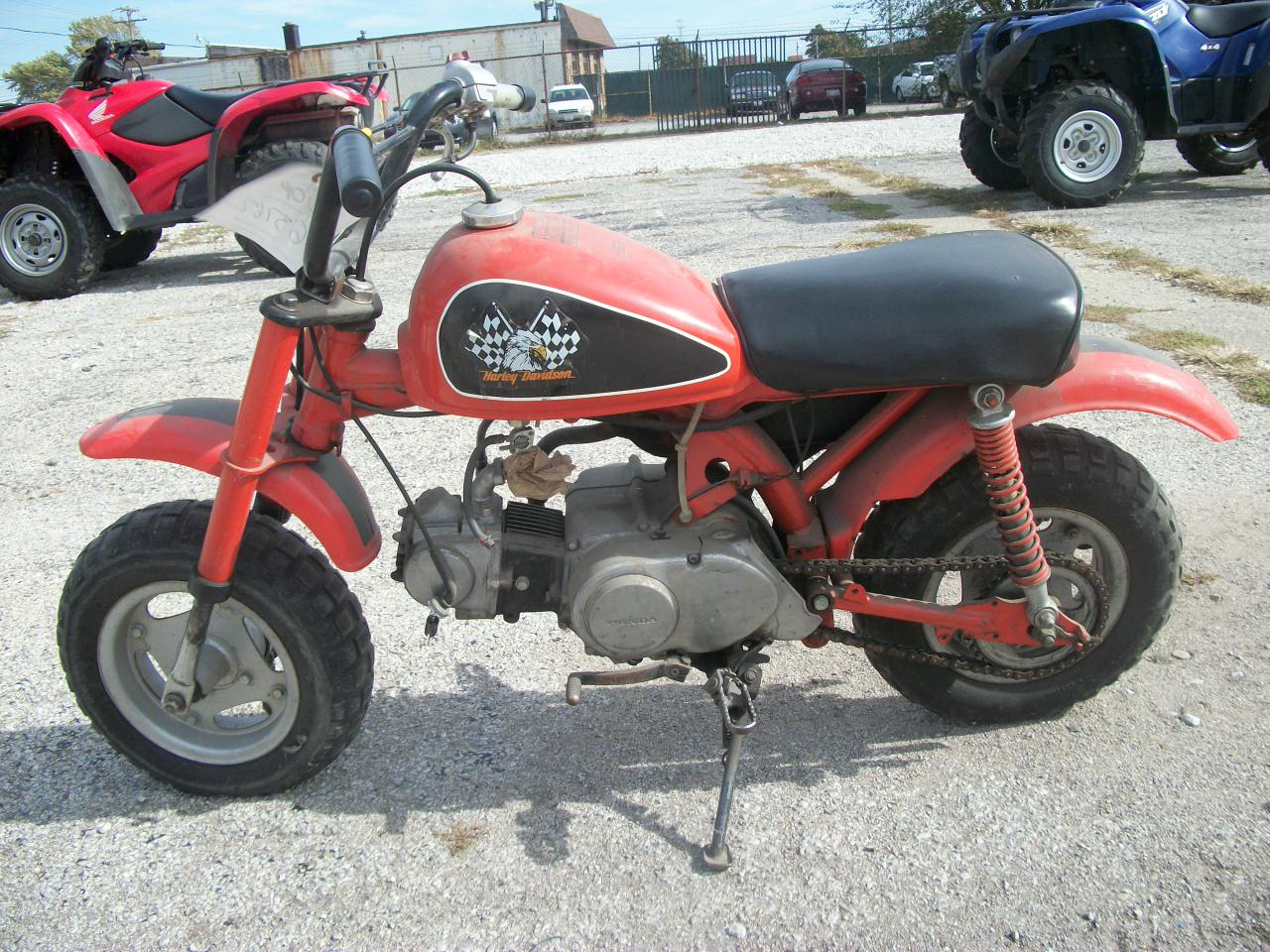 RED 1984 HONDA Z50R Z 50R for sale in Decatur, IL Photo 6