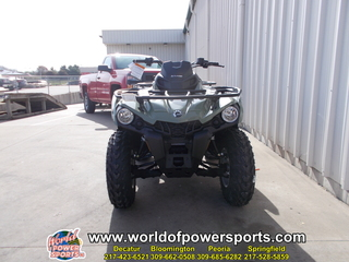 2018 2CJB ATV OUTLANDER DPS 570EFI EG 18 C1127 - Click for larger photo