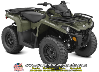 2018 5AJB ATV OUTLANDER 450EFI EG 18 C0850 - Click for larger photo