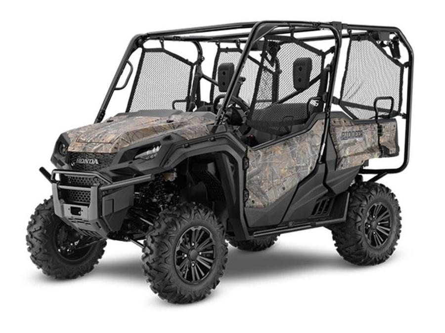 2020 Pioneer 1000-5 Deluxe Honda Phantom Camo  HC1234 - Click for larger photo