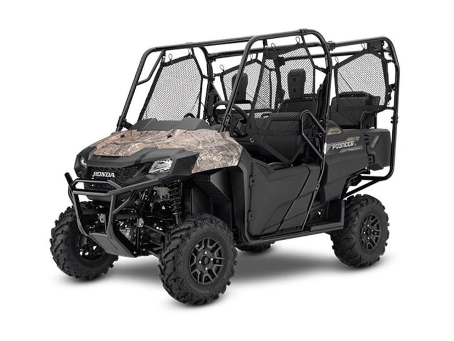 2020 Pioneer 700-4 Deluxe Honda Phantom Camo  HC1234 - Click for larger photo